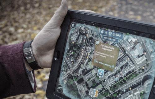 iPad Schnitzeljagd in Basel